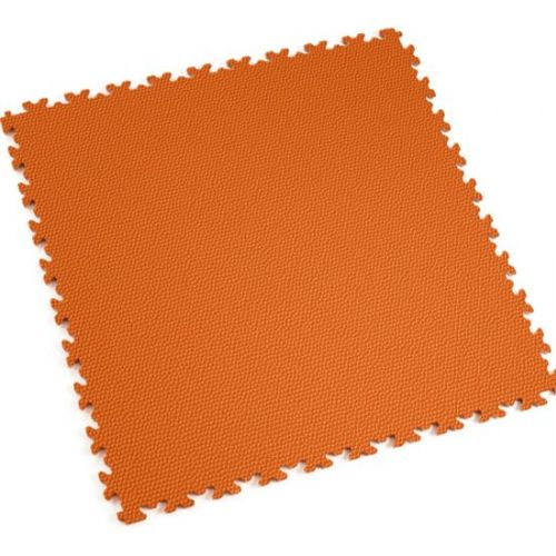 Orange Snakeskin - Motolock Interlocking Floor Tile